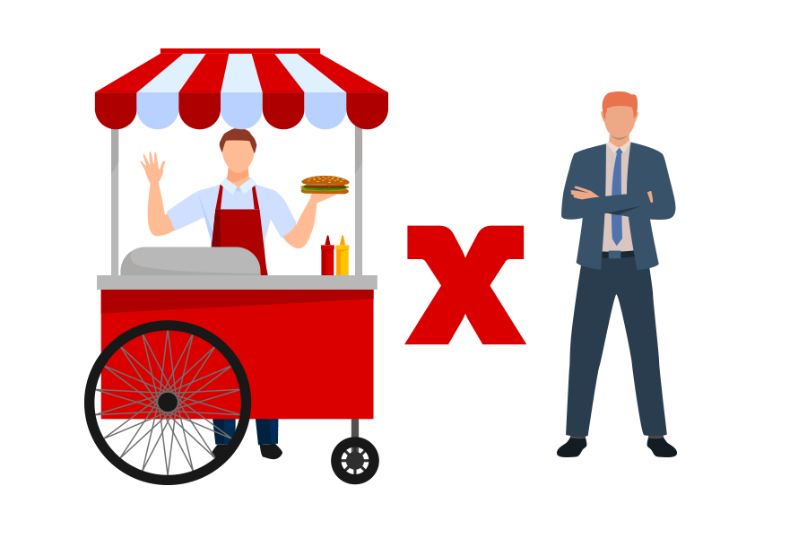 Vínculo de emprego entre vendedor ambulante e empresa de alimentação de MG não é reconhecido